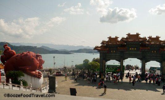 Wen Wu Temple view