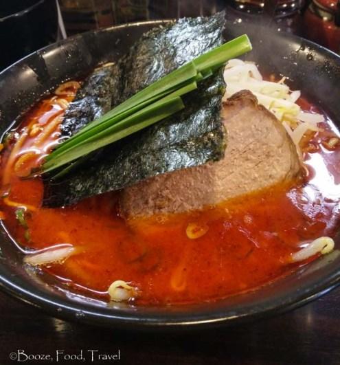 spicy ramen tokyo
