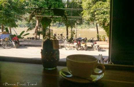 saffron coffee luang prabang