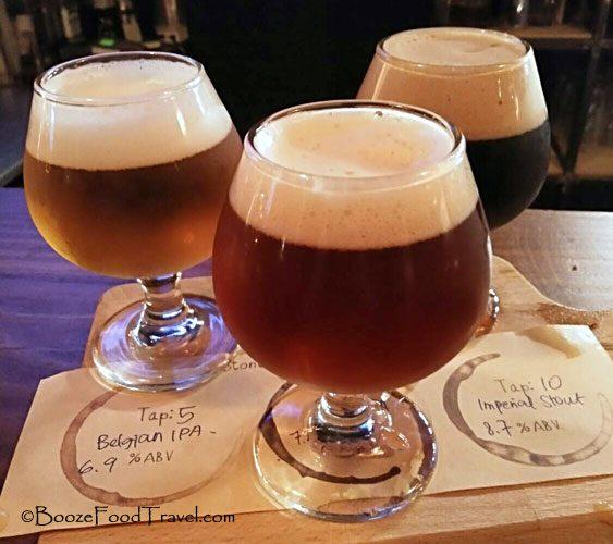 stone beer tasting
