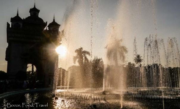 patuxai fountain