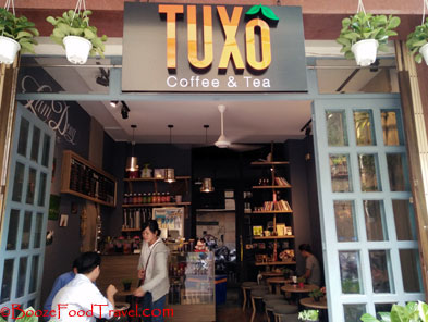 tuxo coffee saigon