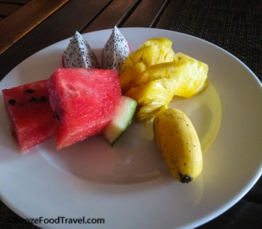 melon resort breakfast