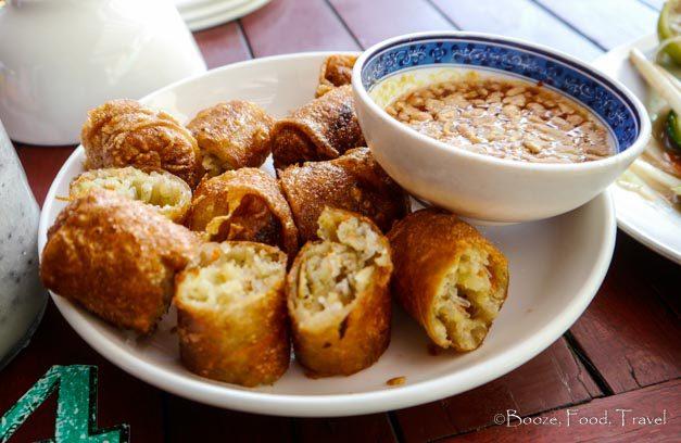 spring rolls laos