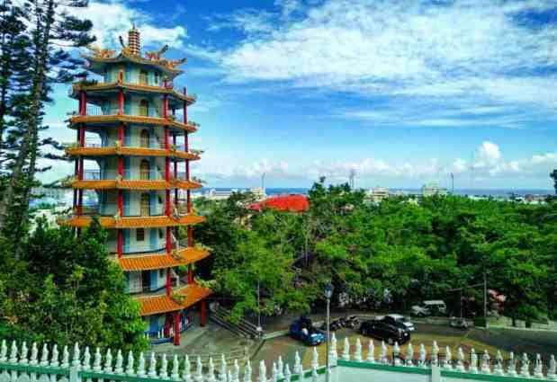 liyushan pagoda