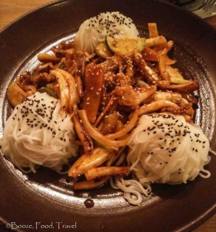 squid noodles