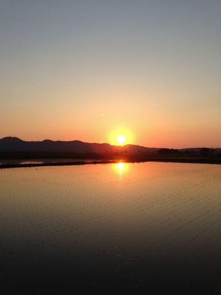 tsuruoka sunset