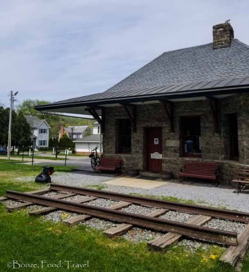Califon train station