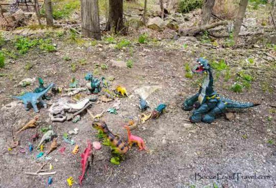 columbia trail dinosaurs