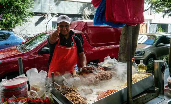 mexico taco vendor