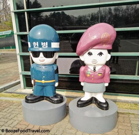 south korean guards