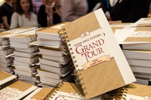 Wine Spectator Grand Tour guide/Photo: Camilla Sjodin