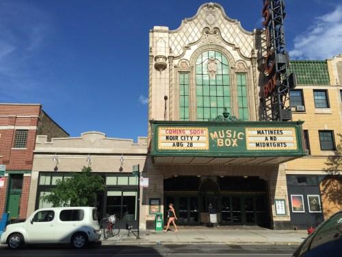 The Music Box Theater/Photo: Rosemary Lane