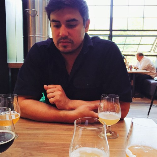 Jacob Sembrano thinks a lot about beer/Photo: David Hammond