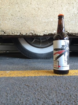Concrete Traffic, the art and the beer/Photo: Erik Peterson