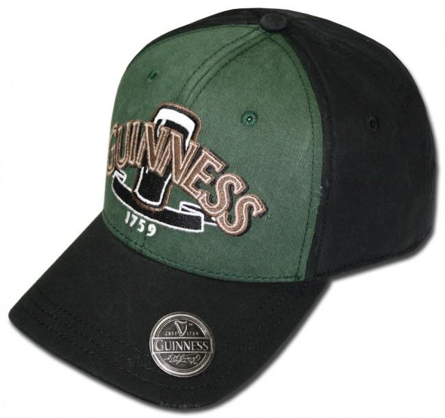 Guinness Green Pint Hat W Opener