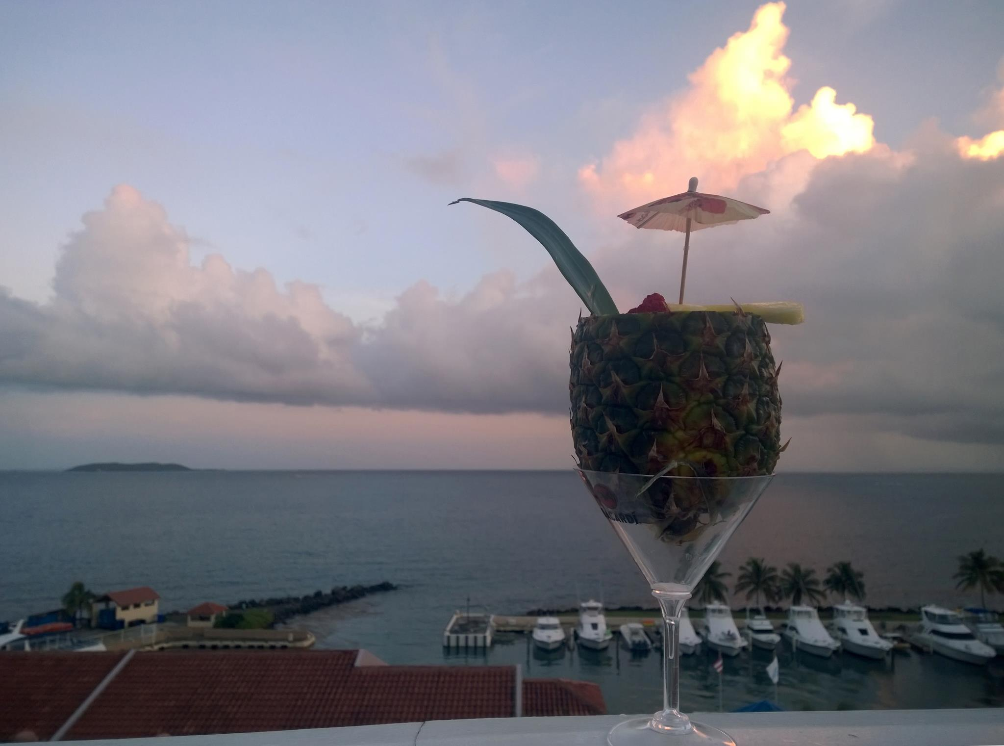 Pineapple mai tai tipsy bartender boozist