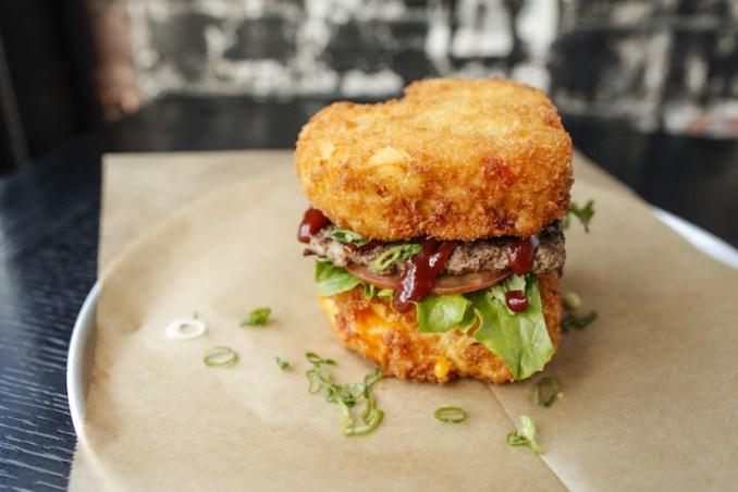 RBB - Mac & Cheese Heart Attack Burger 2