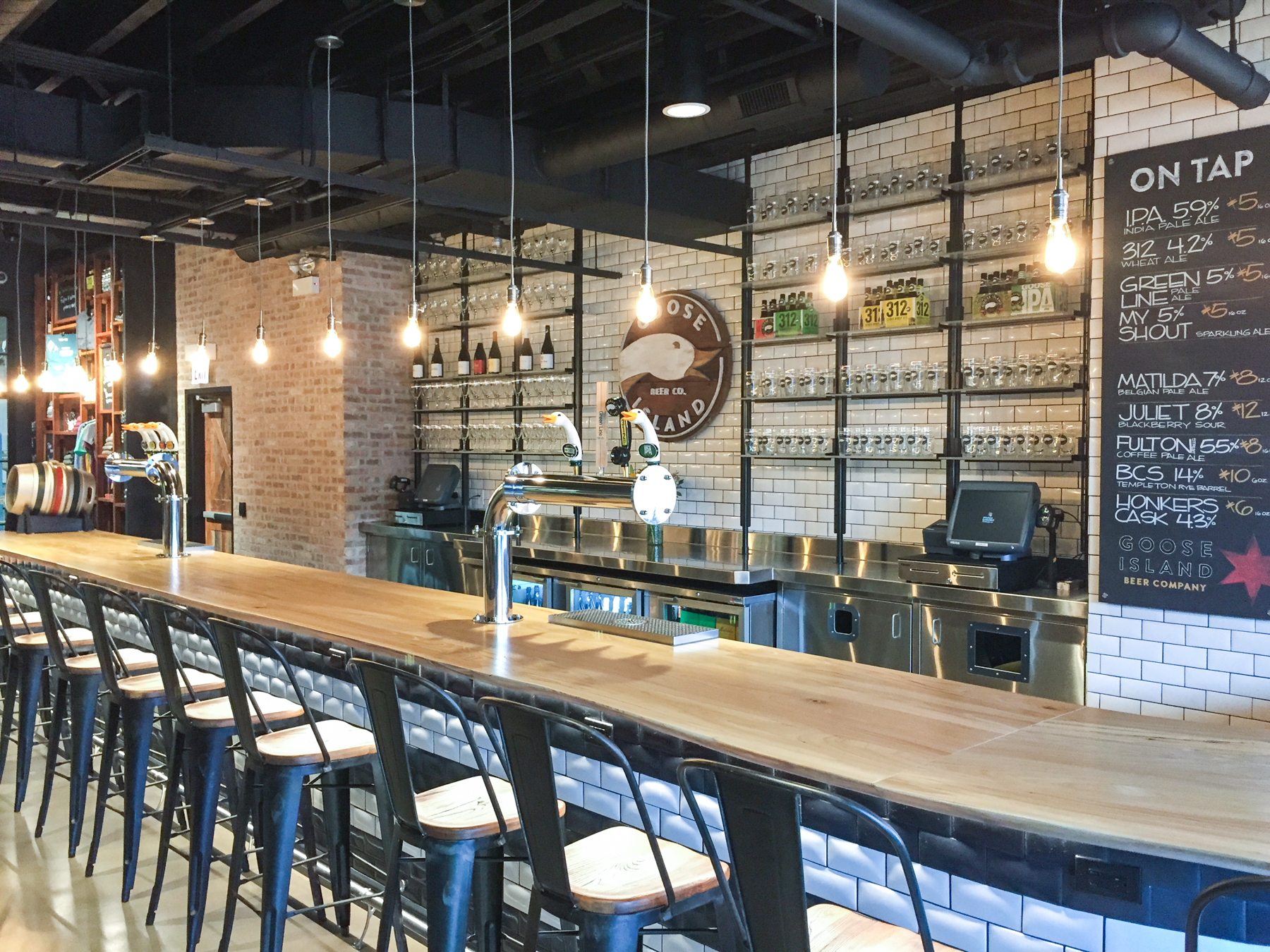 Goose Island Brewery Tour Fulton