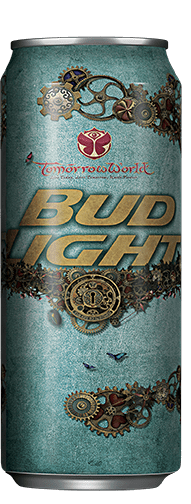 Bud Light TomorrowWorld Festival Can - Light_blue_can