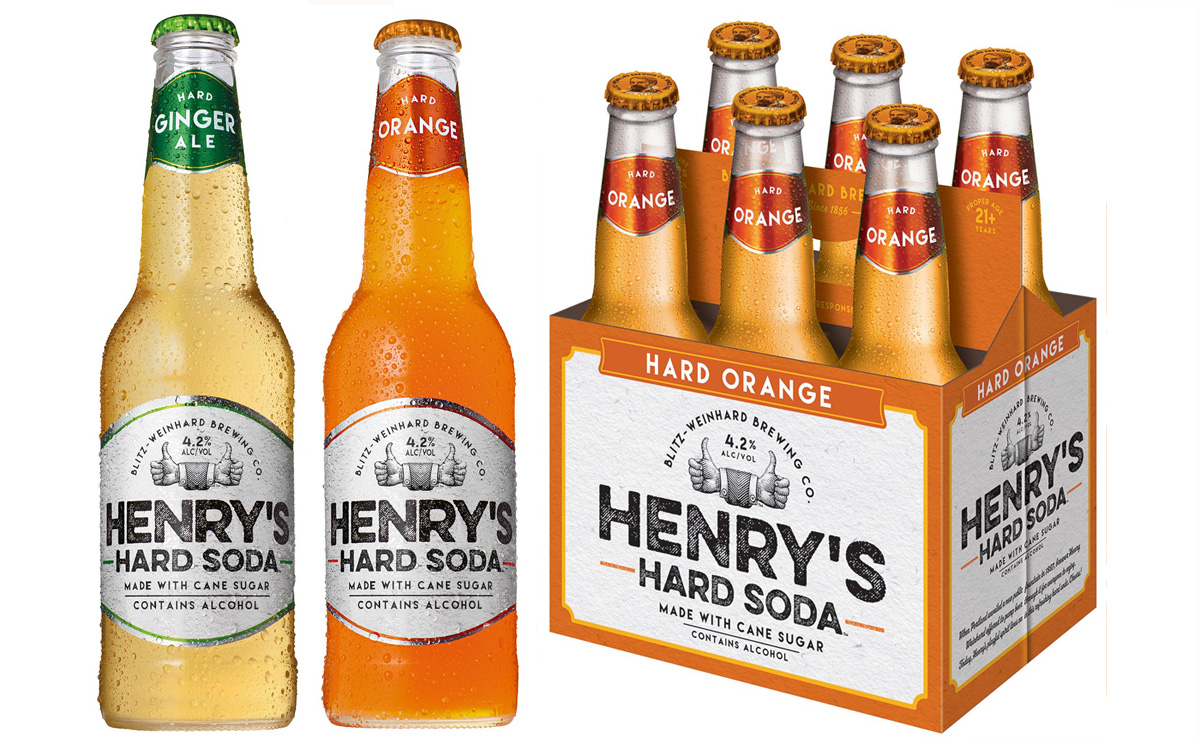Henrys Hard Soda Combines Nostalgia and Booze
