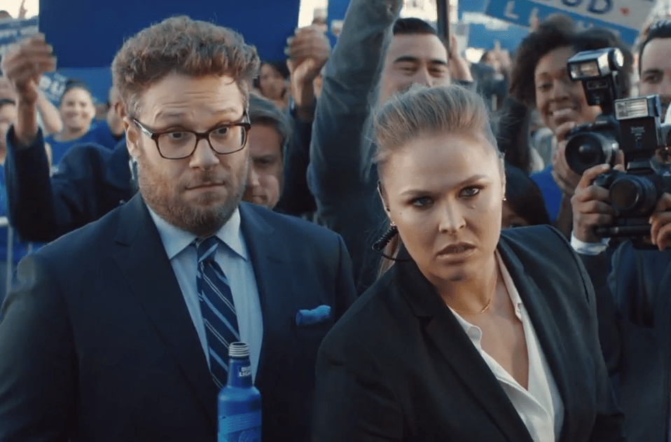 bud light party ronda rousey