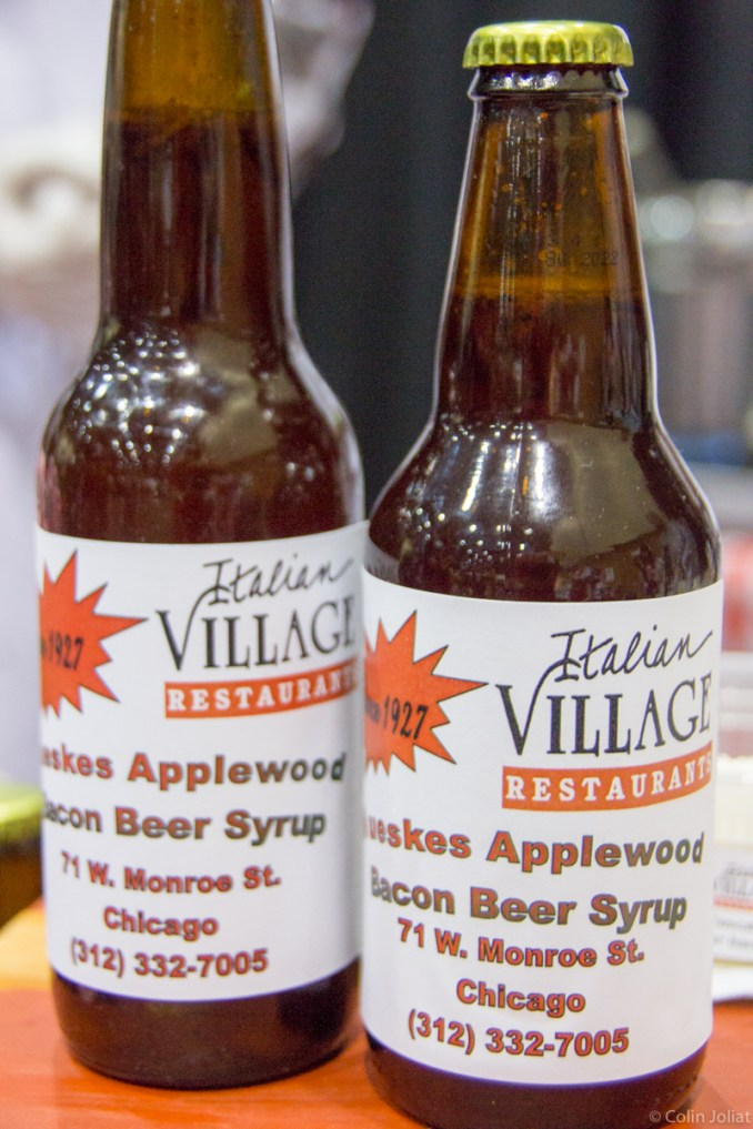 Italian Village Restaurants - Beer and Bacon Pancakes