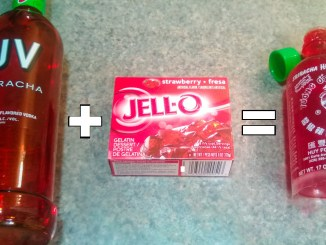 sriracha jello shot
