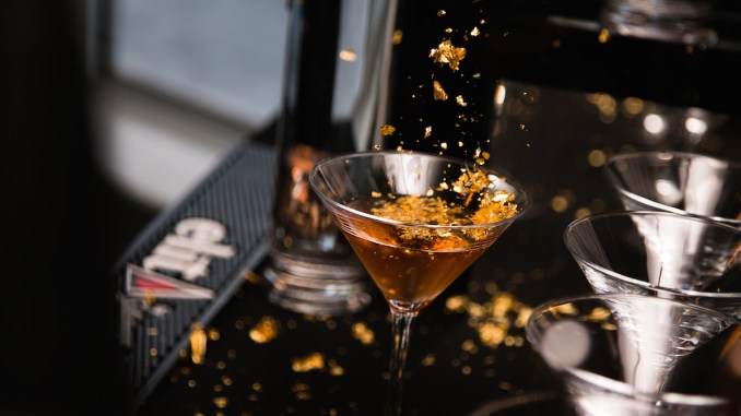 gold cocktail