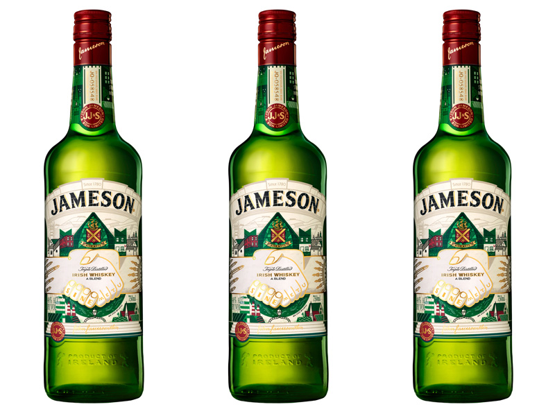 Limited Edition Jameson Bottle - St. Patrick's Day 2017