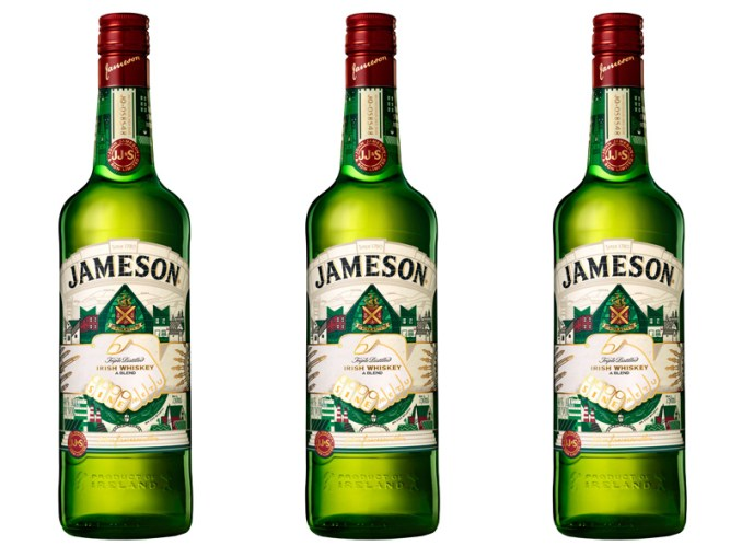 limited edition jameson bottle