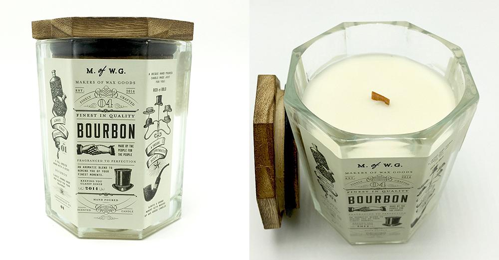 bourbon candle