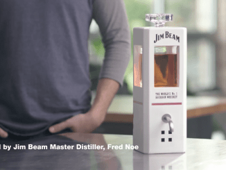 Jim Beam Smart Decanter