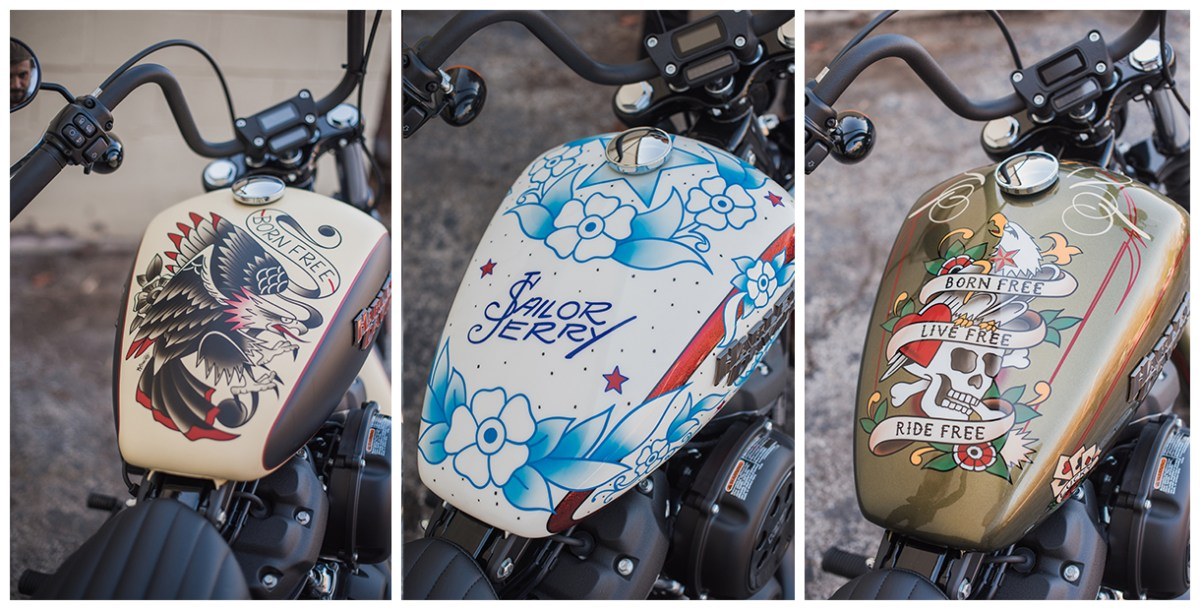 Sailor Jerry Harley Davidsons will start rum running this summer