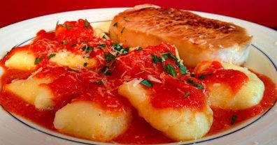 Marcella Hazan's Potato Gnocchi with Tomato Sauce