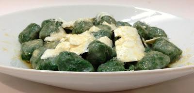 Vetri Spinach Gnocchi
