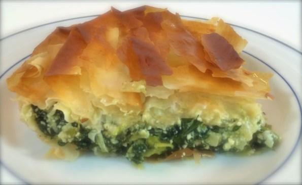 Spanikopita (Greek Spinach Phyllo Pie)