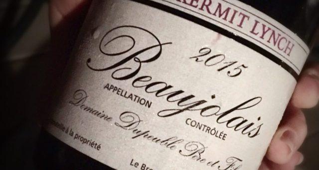 2015 Domaine Depeuble Pere et Fils Beaujolais