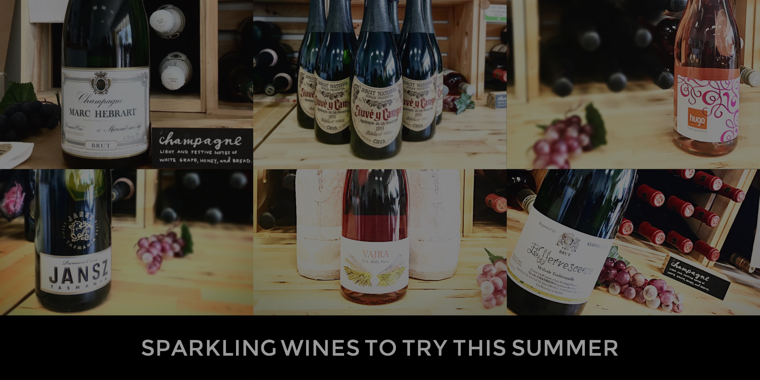 Sparkling Wine Discoveries for the Summer
