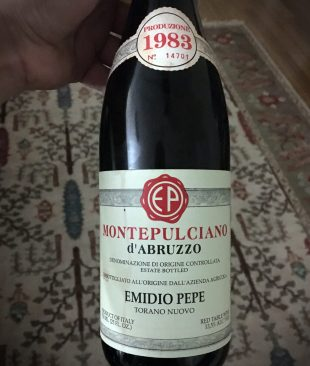 1983 Emidio Pepe Montepulciano d'Abruzzo