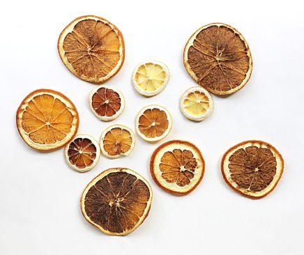 Homemade Dried Citrus Slices