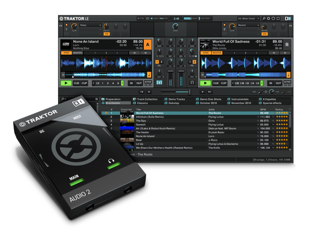 medium resolution of  native instruments traktor audio 2 mk2