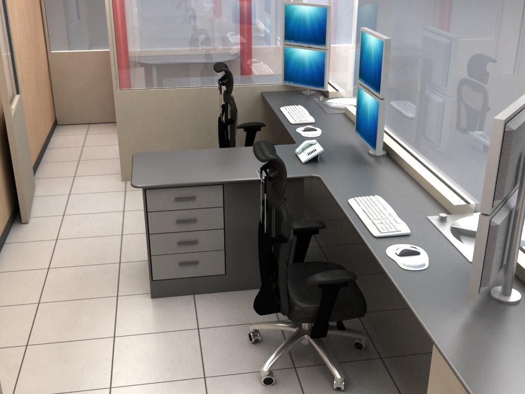 Mobiliario para Cabinas de Vigilancia y Control  Optimizacin