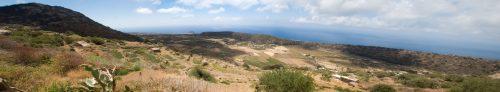 Panorama dal Bagno Asciutto, guardando verso sud-ovest
