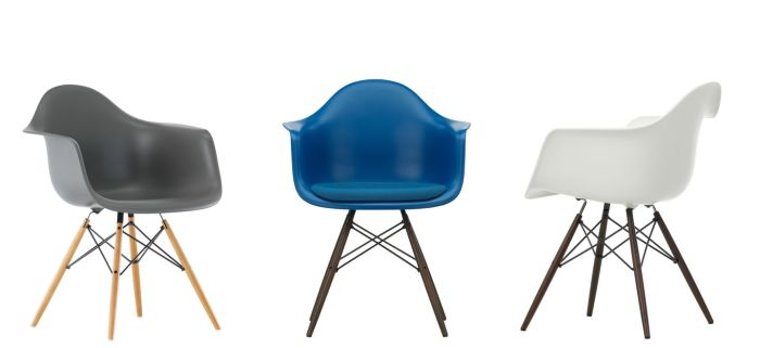 Eames Plastic Armchair DAW 8