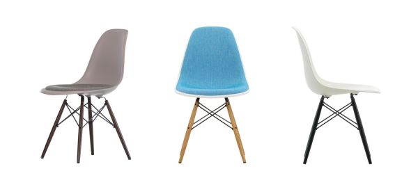 Eames Plastic Side Chair - DSW 7