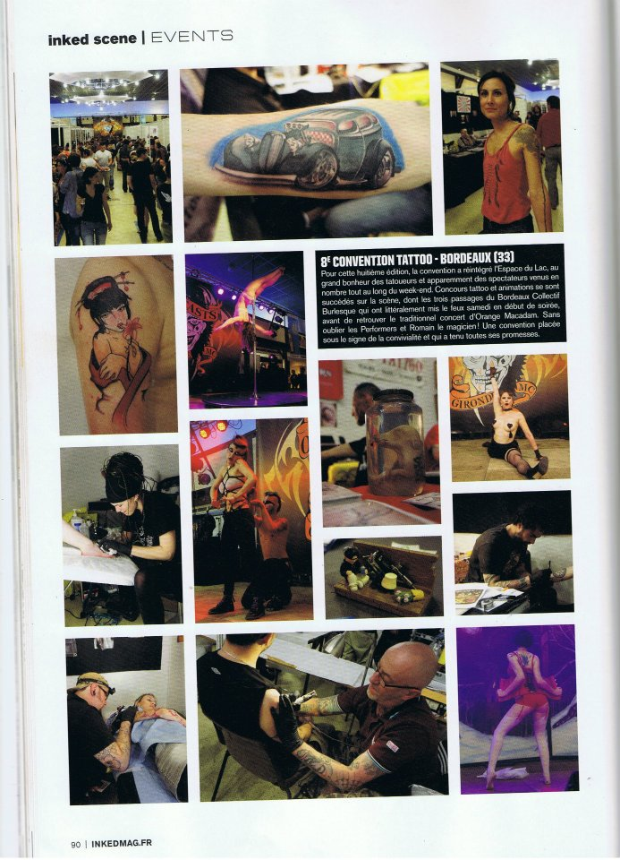 Inked : reportage à la convention du tattoo