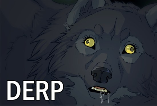Herp Derp Wolves die out, but herp derp humans seem to multiply.
