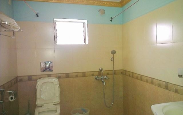 Clean bathroom Goa