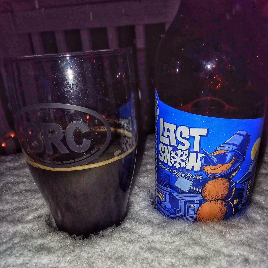 The BRC 12 Beers of Christmas 2017 Beer 1: Funky Buddha Last Snow